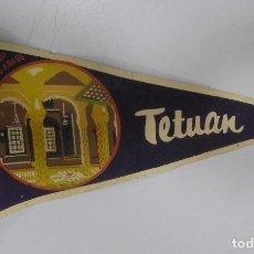 Banderines de colección: BANDERIN. TETUAN. INTERIOR PALACIO ARABE. 26CM. Lote 114351667