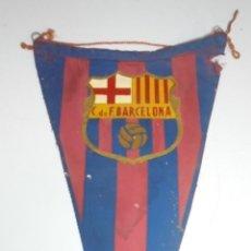 Banderines de colección: BANDERIN. C. DE F. BARCELONA. FUTBOL. 25CM. Lote 114352115