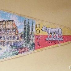 Banderines de colección: ANTIGUO BANDERIN - ROMA. Lote 114820531