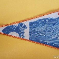 Banderines de colección: ANTIGUO BANDERIN - BERGA . Lote 115145043