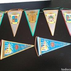 Banderines de colección: BANDERINES DE ESPAÑA PEQUEÑOS. Lote 115624652