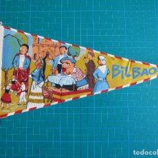 Banderines de colección: BANDERÍN BILBAO 28,5 CM IRUPE 1582. Lote 117053107