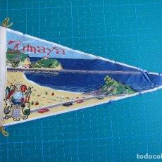Banderines de colección: BANDERÍN ZUMAYA 28,5 CM IRUPE 591. Lote 117053583