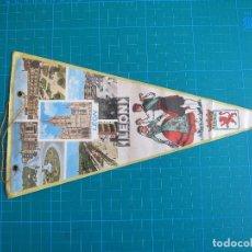 Banderines de colección: BANDERÍN LEÓN 28,5 CM. Lote 117055343