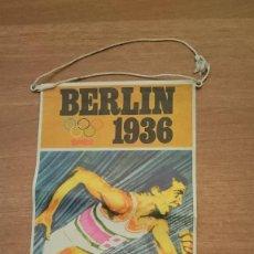 Banderines de colección: BANDERIN, BIMBO, JUEGOS OLIMPICOS Nº 10 BERLIN 1936 AÑO 1968. Lote 117644167
