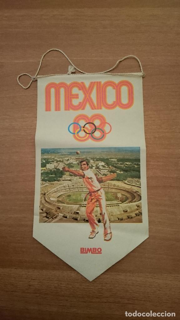 BANDERIN BIMBO OLIMPIADA MEXICO 68 (Coleccionismo - Banderines)