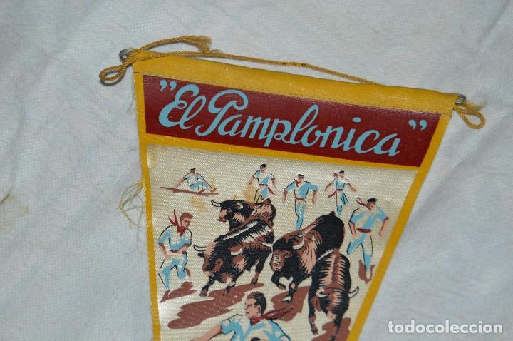 Banderines de colección: VINTAGE - ANTIGUO BANDERÍN - EL PAMPLONICA, PAMPLONA - AÑOS 50 / 60 - JOYA - RARÍSIMO - HAZ OFERTA - Foto 2 - 118188395
