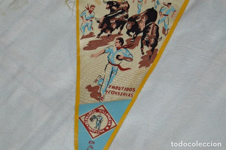 Banderines de colección: VINTAGE - ANTIGUO BANDERÍN - EL PAMPLONICA, PAMPLONA - AÑOS 50 / 60 - JOYA - RARÍSIMO - HAZ OFERTA - Foto 3 - 118188395