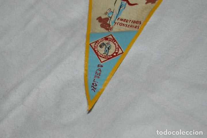 Banderines de colección: VINTAGE - ANTIGUO BANDERÍN - EL PAMPLONICA, PAMPLONA - AÑOS 50 / 60 - JOYA - RARÍSIMO - HAZ OFERTA - Foto 4 - 118188395