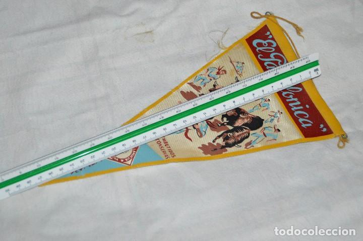 Banderines de colección: VINTAGE - ANTIGUO BANDERÍN - EL PAMPLONICA, PAMPLONA - AÑOS 50 / 60 - JOYA - RARÍSIMO - HAZ OFERTA - Foto 7 - 118188395