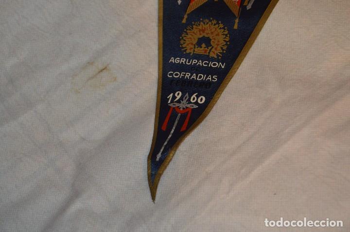 Banderines de colección: VINTAGE - ANTIGUO BANDERÍN - EXPOSICIÓN DE SEMANA SANTA DE MÁLAGA - 1960 - HAZME UNA OFERTA - Foto 4 - 118298955