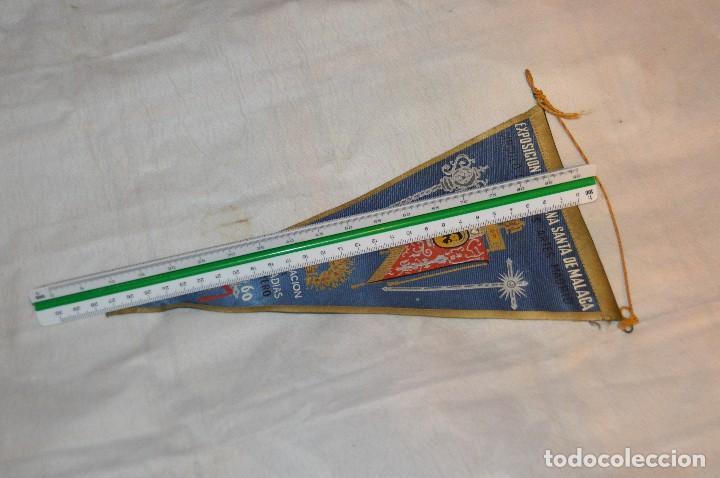 Banderines de colección: VINTAGE - ANTIGUO BANDERÍN - EXPOSICIÓN DE SEMANA SANTA DE MÁLAGA - 1960 - HAZME UNA OFERTA - Foto 7 - 118298955
