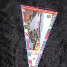 Banderines de colección: BANDERIN DE MELILLA PLASTIFICADO MD 27 X 15 CM. Lote 118380483