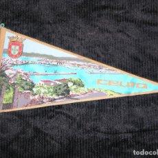 Banderines de colección: F1 BANDERIN DE CEUTA MD 27 X 15 CM. Lote 118380639