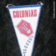 Banderines de colección: F1 BANDRIN COLONAIAS MD 29 X 16 CM. Lote 118382467