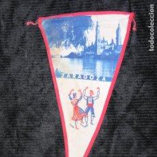 Banderines de colección: F1 BANDERIN DE ROPA ZARAGOZA MD 27 X 15 CM. Lote 118383627