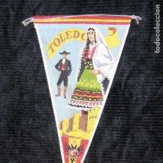 Banderines de colección: F1 BANDERIN DE ROPA TOLEDO MAD 26 X 14 CM. Lote 118383851