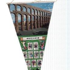 Banderines de colección: BANDERIN: SEGOVIA - IMAGEN DEL ACUEDUCTO DE SEGOVIA. Lote 118427606