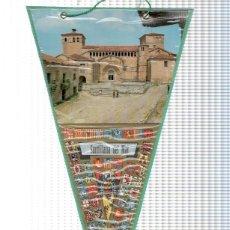 Banderines de colección: BANDERIN: SANTILLANA DEL MAR- VISTA EXTERIOR DE LA COLEGIATA DE SANTA JULIANA. Lote 118429467