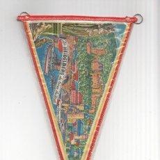 Banderines de colección: BANDERIN: HEIDELBERG, ALEMANIA - DOS CARAS, VISTA GENERAL DEL PUEBLO Y TORRE DE COMUNICACIONES D.... Lote 118430068