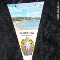 Banderines de colección: F1 BANDERIN DE SANGENJO PONTEVEDRA PLASTIFICADO MD 28 X 15 CM. Lote 118655415