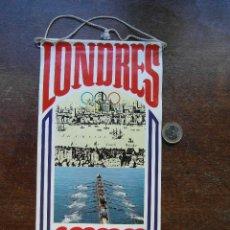 Banderines de colección: BANDERIN BIMBO. JUEGOS OLIMPICOS DE LONDRES 1908. DORANDO PIETRI. Lote 118656679