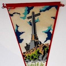 Banderines de colección: ANTIGUO BANDERÍN DEL VALLE DE LOS CAÍDOS - MADRID / 222 E.MARGI. Lote 118730675
