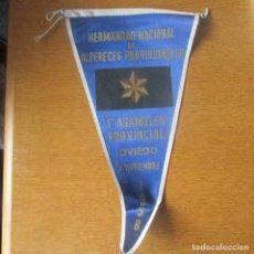 Banderines de colección: BANDERIN ALFERECES PROVISIONALES, FALANGE, OVIEDO. Lote 119711983