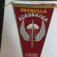 Galhardetes de coleção: BANDERÍN PATRULLA ACROBÁTICA PARACAIDISTAS ESPAÑA. Lote 119896639