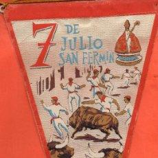 Banderines de colección: VESIV BANDERIN 7 DE JULIO SAN FERMIN. Lote 119926735