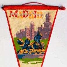 Banderines de colección: BANDERIN DE MADRID. Lote 120671919