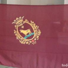 Banderines de colección: BANDERA DE TERUEL DE 150X100 ESTAMPADA GENERO ACRILICO. Lote 121342551