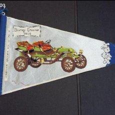 Banderines de colección: BANDERIN Nº 3A - HISTORIA DEL AUTOMÓVIL - STANLEY STEAMER 1909 - BIMBO. Lote 121525387