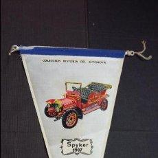 Banderines de colección: BANDERIN Nº 7A - HISTORIA DEL AUTOMÓVIL - SPYKER 1907 - BIMBO. Lote 121525547