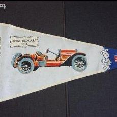 Banderines de colección: BANDERIN Nº 7A - HISTORIA DEL AUTOMÓVIL - STUZ BEACART 1914 - BIMBO. Lote 121525799