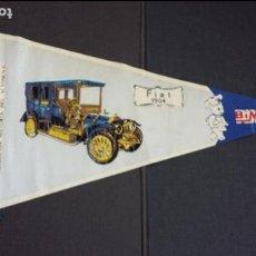 Banderines de colección: BANDERIN Nº 4A - HISTORIA DEL AUTOMÓVIL - FIAT 1904 - BIMBO. Lote 121526119