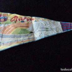 Banderines de colección: ANTIGUO BANDERIN DEL BARÇA 34 CM. Lote 121568515