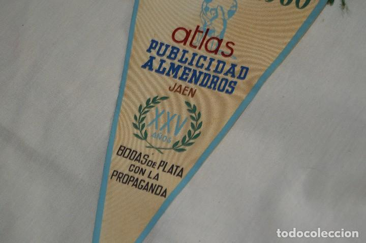 Banderines de colección: VINTAGE - ANTIGUO BANDERÍN - ATLAS PUBLICIDAD ALMENDROS JAEN - 1936 / 1960 - ENVÍO 24H - Foto 3 - 122474887