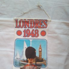 Banderines de colección: ANTIGUO BANDERÍN PROPAGANDA DE BIMBO JUEGOS OLÍMPICOS NÚMERO 11, LONDRES 1948. Lote 122778551