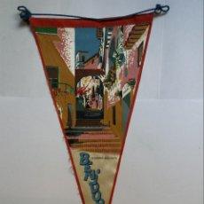 Fanions de collection: BANDERÍN - BENIDORM - CARRERO DELS GATS. Lote 123120651