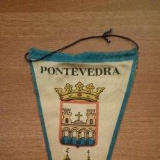 Banderines de colección: BANDERIN DE PONTEVEDRA . Lote 124529359