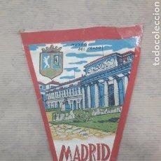 Banderines de colección: ANTIGUO BANDERÍN MADRID MUSEO DEL PRADO. Lote 125054671