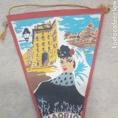 Banderines de colección: ANTIGUO BANDERÍN CHULAPONA MADRID MARGI. Lote 125055434