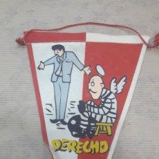 Banderines de colección: ANTIGUO BANDERÍN DERECHO. Lote 125056572