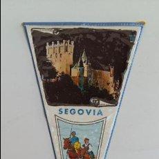 Banderines de colección: BANDERIN SEGOVIA. PLASTIFICADO. . Lote 125307255
