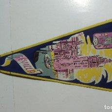 Banderines de colección: VIEJO BANDERIN DE LA GIRALDA DE SEVILLA. Lote 126112611