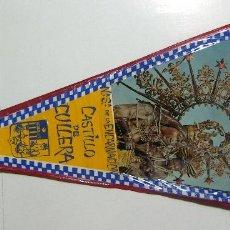 Banderines de colección: VIEJO BANDERIN DE VIRGEN DEL CASTILLO DE CULLERA. Lote 126113395