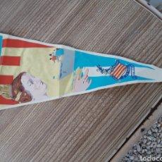 Banderines de colección: FALLAS VALENCIA BANDERIN BARCO FALLERO. Lote 128075674