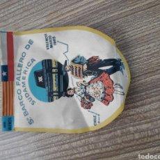 Banderines de colección: FALLAS VALENCIA BANDERIN BARCO FALLERO. Lote 128075770