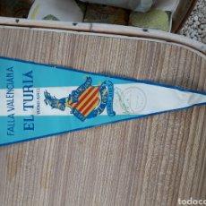 Banderines de colección: FALLAS VALENCIA BANDERIN BARCO FALLERO. Lote 128075899